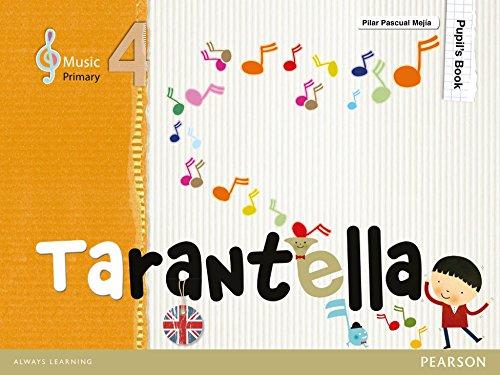 Tarantella 4 Pupil's Book - 9788420558813 por Pilar Pascual Mejía