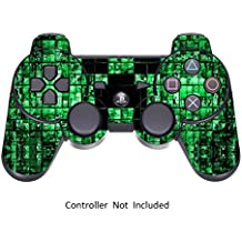 Skins for PS3 PlayStation 3 Controller Decals Sony Play Station 3 Wireless Controllers Modded Stickers Game Protective Skin Decal - Green Digicamo [ Controller Not Included ] by GameXcel ?