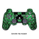 PlayStation 3 PS3 Controller Sticker - Aufkleber Schutzfolie Skin für Sony Playstation DualShock 3 Wireless Controller Green Digicamo