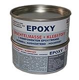 Sanremo EPOXY Klebstoff + Spachtelmasse 2 Komponenten Epoxydharz 1kg