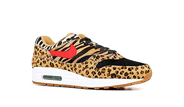 Nike Air Max 1 DLX (Animal Pack), (Grano Sport Red bison