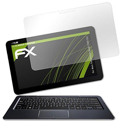 atFolix Bildschirmfolie kompatibel mit Asus Transformer Book T300 Chi Spiegelfolie, Spiegeleffekt FX Schutzfolie