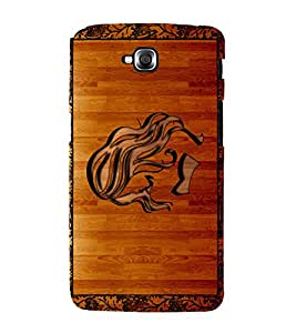 printtech Wooden Design Back Case Cover for LG GPro Lite / LG G Pro Lite Dual D686