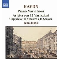Haydn: Piano Variations