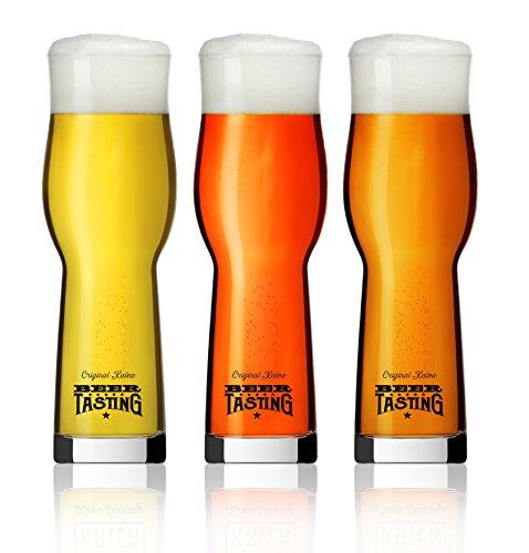 6 x BeerTasting Degustationsgläser 0,33l