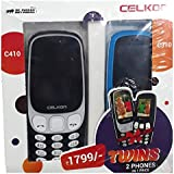 Celkon C410 & C310 Dual Sim 1.3MP Camera Combo Of 2 Mobiles(Buy 1 Get 1 Free)