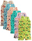 #10: Manzon Kids Printed Top with Shorts - Pack of 6
