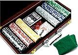 Set da Gioco Set da Poker nella Valigia Black Jack 2784