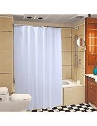 D G F Cortina de la ducha de PEVA Cuarto de baño interno Impermeable Cortina antiniebla Multi-tamaño Opcional ( Tamaño : 220*200cm )