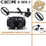 c-scope/ /Rilevatore di metalli CS 440/x D con Protegge Disco e auricolari