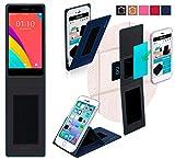 Oppo R5s Hülle in blau - innovative 4 in 1 Handyhülle -