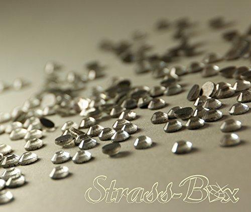 Ss30 Crystal (Hotfix DMC Strasssteine CRYSTAL/Klar SS30 Stückzahl wählbar Profi AAA Qualität 250)