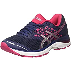 Asics Gel-Pulse 9, Zapatillas de Running para Mujer, Morado (Indigo Blue/Silver/Bright Rose 4993), 40.5 EU