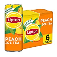 Lipton Ice Tea Peach 6X320ml Can SaudiArabia