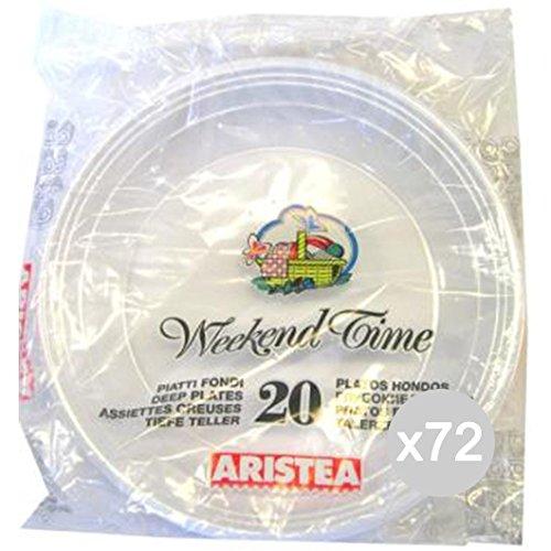 Set 72 ARISTEA 20 Plate Gr.7 Diameter 20 152701 Tisch Und Küche