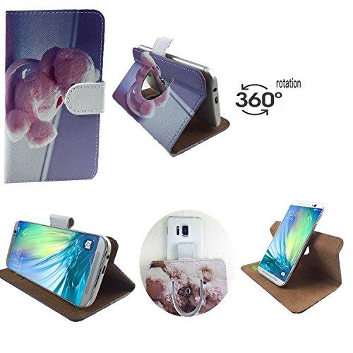 Handy Schutz Hülle | für Allview X3 Soul Lite | 360° Drehbare Funcktion |- 360° Nano M Bär 2