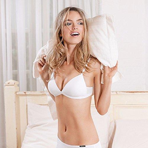 Bras Mädchen 'Draht Kostenlose Baumwolle BH Essential Triangle BH klein Größe Bikini Bralette für Frauen A B Cup