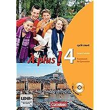 À plus! - Ausgabe 2004: Band 4 (cycle court) - Carnet d'activités mit CD-ROM