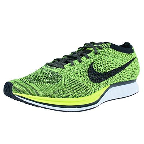 Nike Flyknit Racer, Scarpe da Corsa Uomo Verde (Verde (volt/black-sequoia))