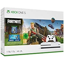 Xbox One S 1TB - Fortnite Bundle (inkl. Fortnite: Battle Royale, EON Skin-Set und 2.000 V-Bucks)