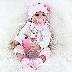 Runrain Reborn naissance Realike poupée faite à la main réaliste en silicone