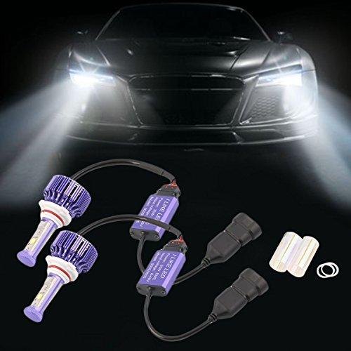 gugutogo 2LED Scheinwerfer-Kit 900660W 3000K LED Pro Bright Leuchtmittel Set (Farbe: Weiß)