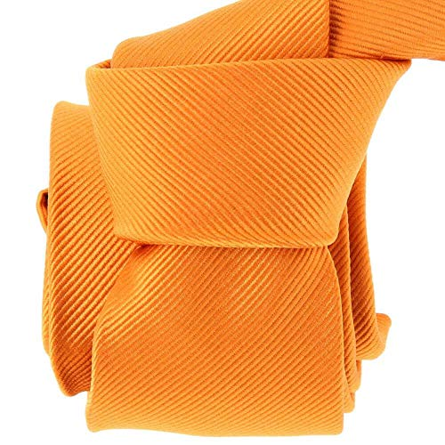 Clj Charles Le Jeune - Cravate Clj, Naveline, Orange Vif