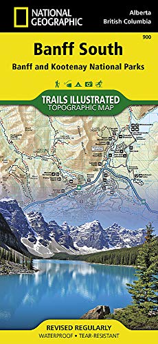 Banff South (National Geographic Trails Illustrated Map, Band 900) -