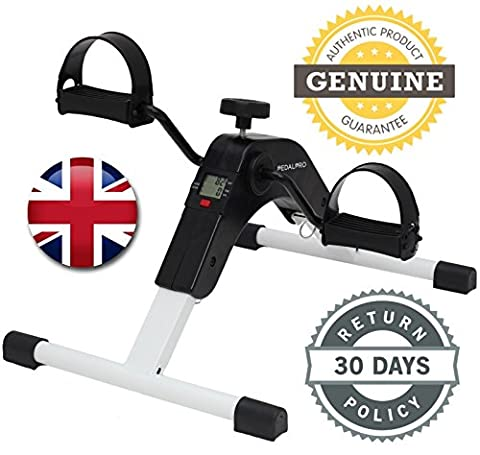 PedalPro Folding Mini Exercise Bike Pedal Exerciser With Multi Function