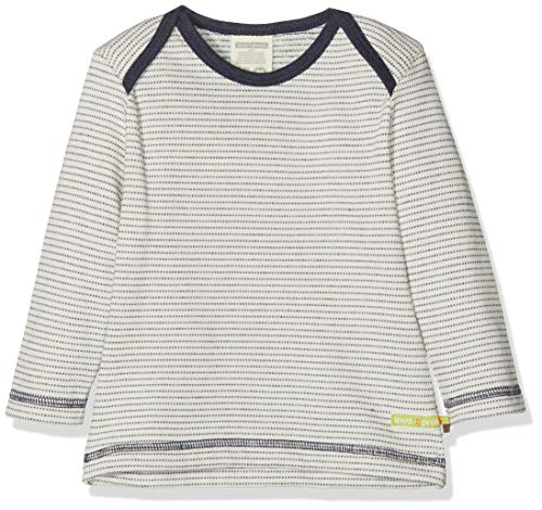 loud + proud loud + proud Baby-Unisex Sweatshirt Shirt Langarm Frottée, Blau (Midnight Mi), 68