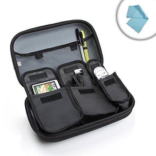 Kameratasche für Kompaktkameras und Zubehör wie Speicherkarte Akku Ladegeräte USB Stick / Diabetikertasche für Diabetes Spritzen Insulininjektion usw