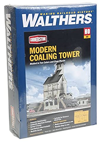 Walthers Cornerstone Series Kit HO Scale Modern Coaling Tower