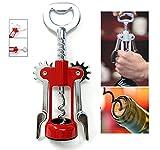 #7: SahiBUY Wing Style Wine Bottle Opener Corkscrew Wine Cork Puller