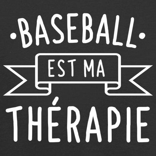 Le Baseball est ma thérapie - Femme T-Shirt - 14 couleur Noir