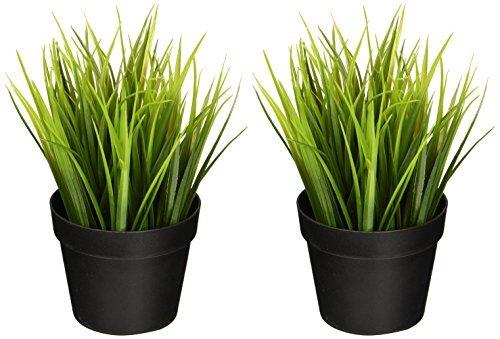 IKEA Artificial en maceta Planta Hierba de trigo 9realista naturaleza plantas decoración...