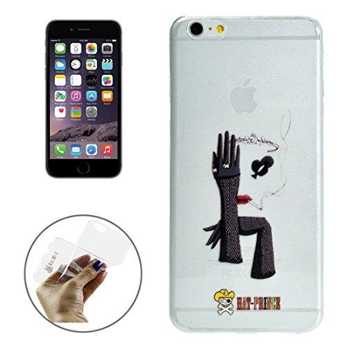 Phone case & Hülle Für IPhone 6 / 6s, Creative Character Pattern Transparent TPU Schutzhülle ( SKU : S-IP6G-7101M ) S-IP6G-7101M