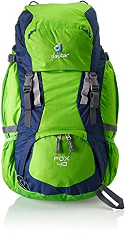 Deuter Kinder Rucksack Fox, spring-midnight, 68 x 30 x 24 cm, 40 Liter, 3608323040