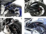 Kawasaki Z750S 04–07/Z75007–11/Negro-Plata malla–Hugg
