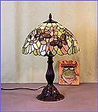 Graf von Gerlitzen Tiffany Stand Tisch Lampe Tischlampe Tiffanylampe GN104