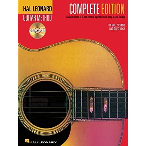 Hal Leonard Guitar Method, Complete Edition: Books & CD's 1, 2 and 3 by Schmid, Will, Koch, Greg (2002) Plastic