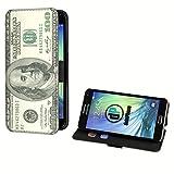 deinPhone Samsung Galaxy S5 Mini Kunstleder Flip Case Dollar