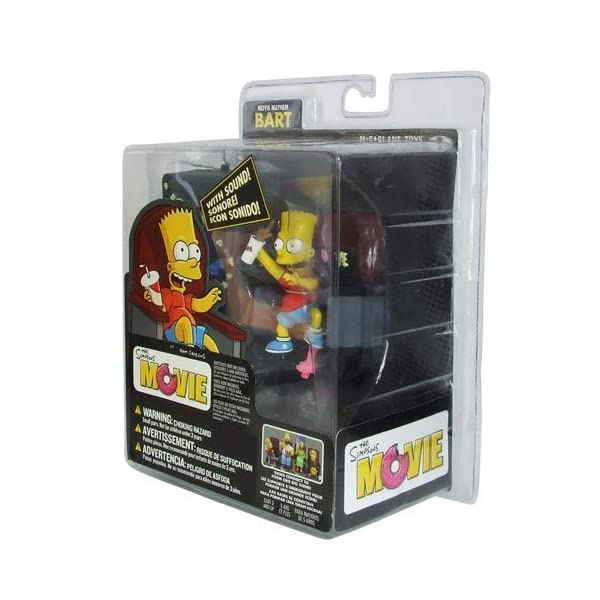 McFarlane Simpsons Movie Mayhem Bart Simpson Figure with Sound by McFarlane 1
