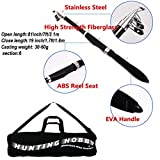 #4: Hunting Hobby Fishing 7 Feet Telescopic Rod with Travelling Bag