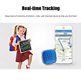 Mini GPS Verfolger Podofo GSM/GPRS Echtzeit-Locator mit kostenloser Google Map Wasserdicht Smart Anti-Lost Tracking-Gerät für Kinder Elder Pets Vehicle Support Android & IOS APP und PC - 5