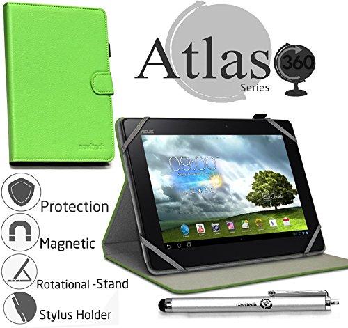 Navitech 10 Zoll grünes Case / Cover mit 360 Rotierbare Stand Funktion und Stylus Pen für das Apple iPad Air 2 (Ipad Air Case Mit Stylus Pen)