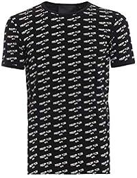 4d5588da71360 Philipp Plein Homme CMUG0007PJY002N0201 Noir Coton T-Shirt