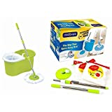 #10: Rinnovare 360 Cleaning Spin Mop with Soap Dispenser (Green)