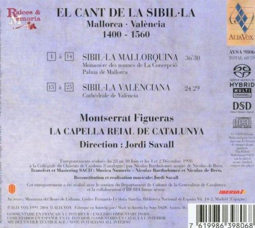 El Cant De La Sibilla : Mallorca - València (1400 - 1560)