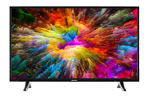 MEDION X14000 101,6 cm (40 Zoll) UHD Fernseher (Smart-TV, 4K Ultra HD, Dolby Vision HDR, Netflix, Prime Video, WLAN, HD Triple Tuner, DTS Sound, PVR, Bluetooth) (40 4k Tv)