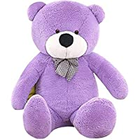 Frantic Teddy Bear (Purple, 2 Feet)